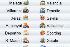Liga Española 2009/10 1ª División: previa, horarios y retransmisiones de la Jornada 9