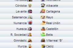 Liga Española 2009/10 2ª División: previa, horarios y retransmisiones de la Jornada 17