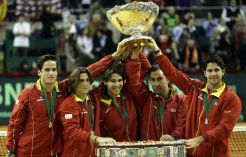 La Roja logra la 5º Copa Davis