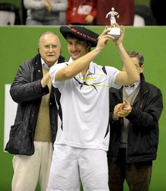 Ferrero gano la segunda edicion del Masters de Bilbao