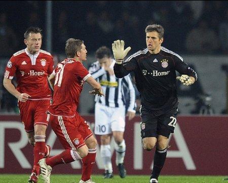 Butt, portero del Bayern Munich, abrió la cuenta de penalty