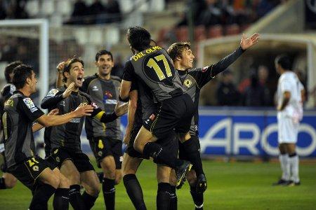 La victoria in extremis del Hércules sobre el Albacete sabe mejor