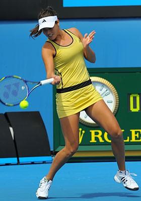 Ana Ivanovic ya esta en la segunda ronda de Australia