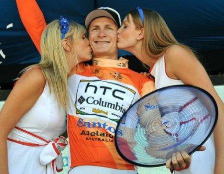El sprinter Andre Greipel ha triunfado en el Tour Down Under