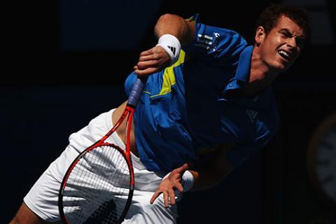 Andy Murray y Rafa Nadal se mediran en los cuartos de final del Open de Australia