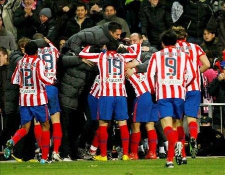 El Atlético consiguió la gesta y remontó los 3 goles ante el Recreativo