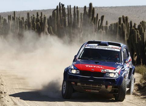 BMW supero hoy a Volkswagen en el Dakar