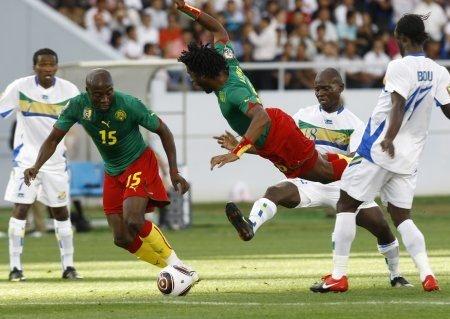 Importante tropiezo de Camerún ante la selección de Gabón