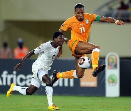 Drogba se estrenó como goleador en el primer triunfo de Costa de Marfil