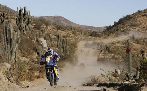 Despres sigue como lider en la categoria de motos del Dakar