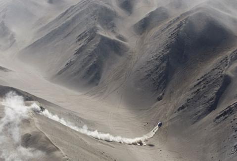Espectacular imagen del Dakar