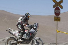 Dakar 2010 Etapa 2: Fretigne gana en motos con Coma tercero, Nani Roma sufre un accidente pero continúa