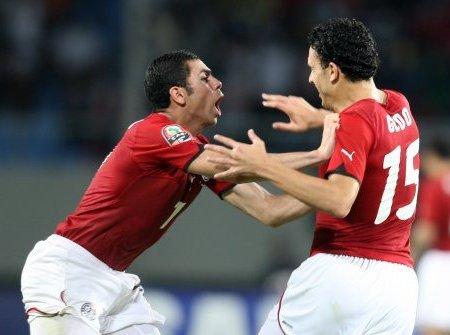 El gol de Geddo diola Copa África a Egito y provocó la locura entre sus compañeros