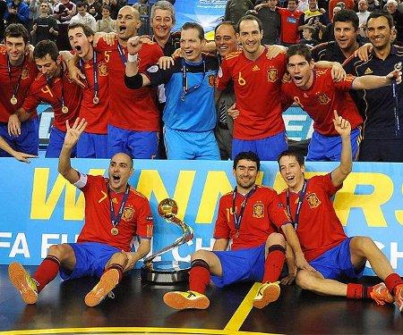 España se ha vuelto a proclamar campeona de Europa de Fútbol Sala