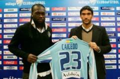 Caicedo y Osvaldo, nuevos delanteros para Málaga y Espanyol respectivamente