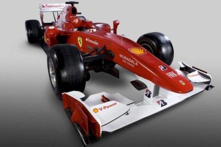 Este es el Ferrari F10, el nuevo coche de Fernando Alonso
