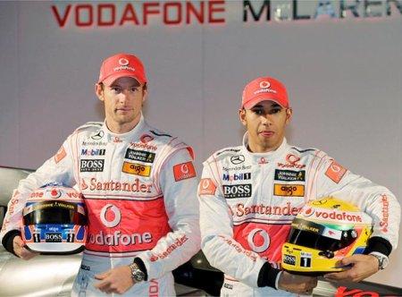 Hamilton y Button son los pilotos de McLaren para 2010
