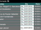 Liga ACB Jornada 19: horarios, previa y retransmisiones