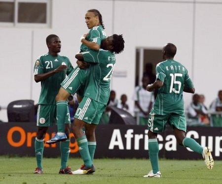 Nigeria estará en cuartos de final de la Copa África