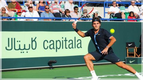 Roger Federer fue derrotado por Soderling en AbuDhabi