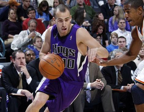 Sergio Rodriguez en Sacramento Kings