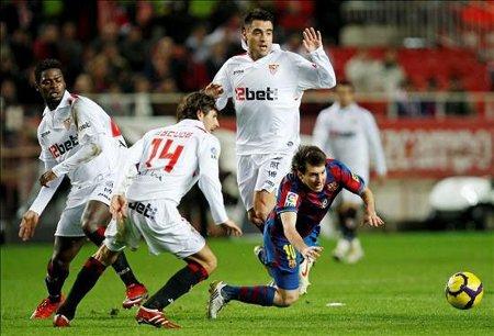 El Barcelona cayó eliminado por el Sevilla en octavos de la Copa del Rey