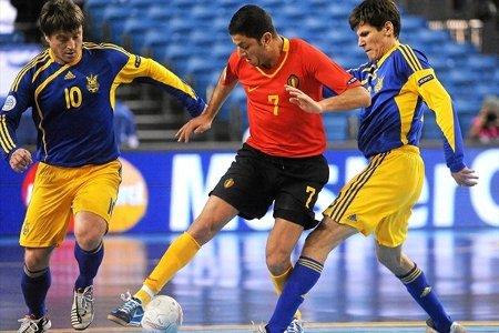 La selección de Bélgica cayó ante Ucrania y se despide del torneo