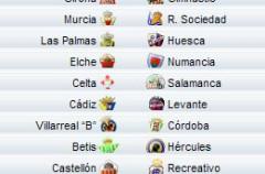 Liga Española 2009/10 2ª División: previa, horarios y retransmisiones de la Jornada 23