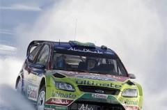 Mikko Hirvonen gana el Rally de Suecia por delante de Sébastien Loeb