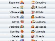 Liga Española 2009/10 1ª División: horarios y retransmisiones de la Jornada 22 con Xerez-R.Madrid y Atlético-Barça