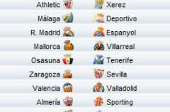 Liga Española 2009/10 1ª División: horarios y retransmisiones de la Jornada 21