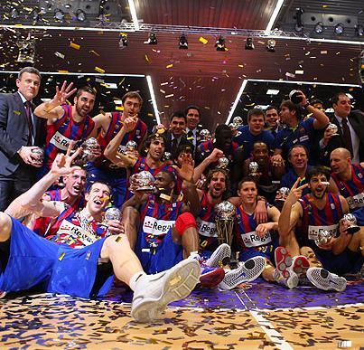 Regal Barcelona, campeon de la Copa del Rey de baloncesto