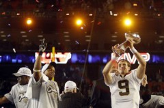 New Orleans Saints se lleva la Super Bowl de 2010