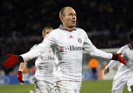 Un gol de Arjen Robben mete al Bayern Munich en los cuartos de final de la Liga de Campeones