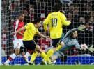 Liga de Campeones 2009/10: empate a 2 entre Arsenal y Barcelona