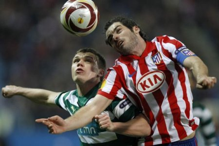 El Atlético no pudo derrotar al Sporting de Lisboa pese a jugar una hora en superioridad