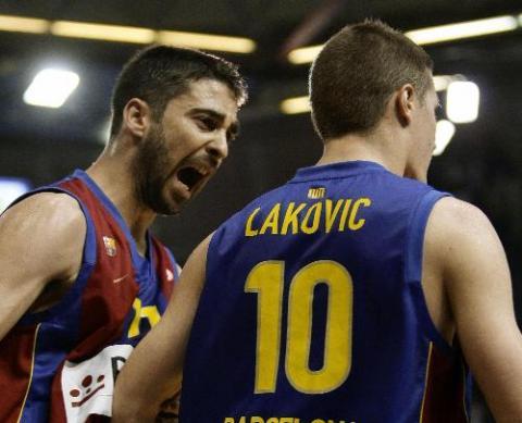 Navarro fue clave en la victoria del Barça