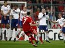 Liga de Campeones 2009/10: el Bayern remonta al United, el Lyon pone pie y medio en semis