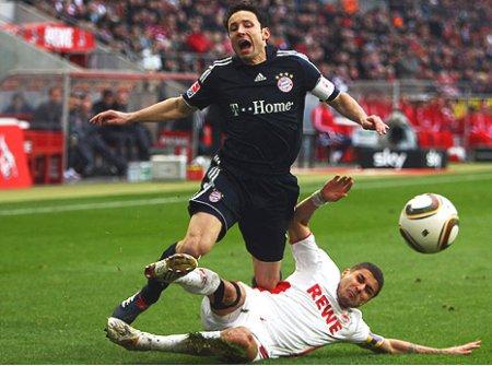 El Bayern Munich tropezó con el Colonia pero se mantiene líder de la Bundesliga