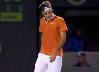 Roger Federer cayo en Miami