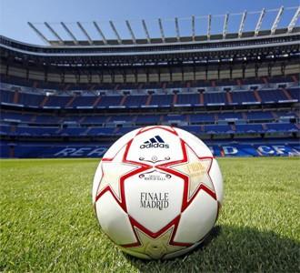 Finale Madrid: balón de la final de la Champions 2010