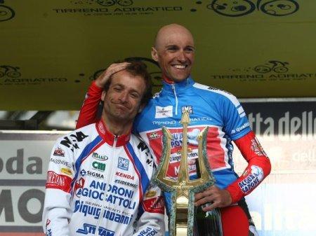 Stefano Garzelli arrebató la Tirreno - Adriático a Michele Scarponi