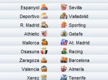 Liga Española 2009/10 1ª División: horarios y retransmisiones de la Jornada 27 con R.Madrid-Sporting y Zaragoza-Barça