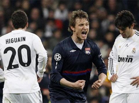 El Lyon puso fin al sueño del Real Madrid