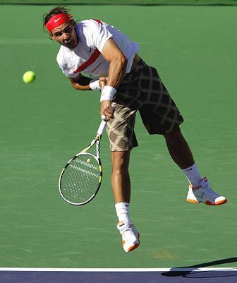 Nadal jugara ante Berdych los cuartos de final de Indian Wells 2010