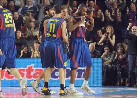 Pete Mickeal fue decisivo en la victoria del Barça en Euroliga