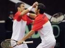 Copa Davis España-Suiza: Granollers y Robredo ganan el dobles y dan ventaja 2-1 a la Armada