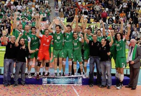 El Unicaja Almería ha conseguido su octava Copa del Rey de voleibol