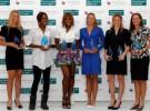 Las hermanas Williams, Dementieva, Clijsters, Wickmayer y Oudin son premiadas por la WTA