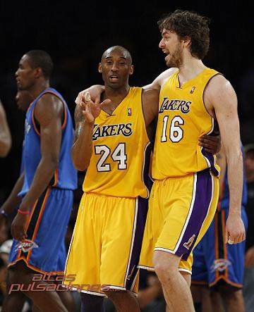 Final NBA: Bryant y Gasol conducen a los Lakers a la primera victoria ante Boston Celtics